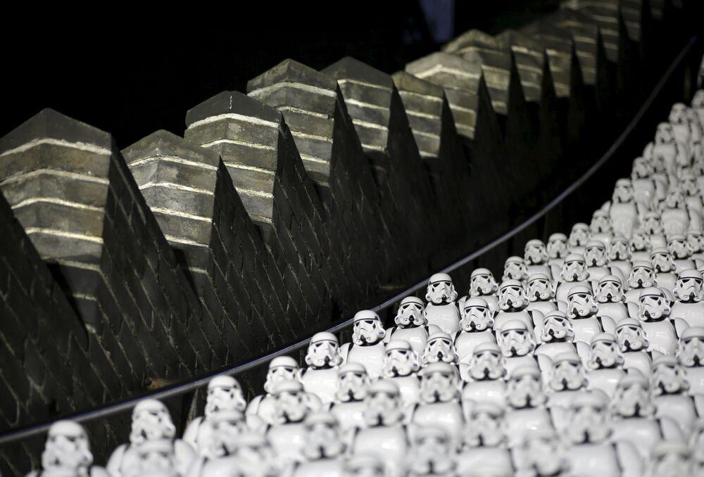 500 szturmowców na schodach Wielkiego Muru