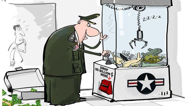 USA baiwą się w bombowce - Sputnik Polska