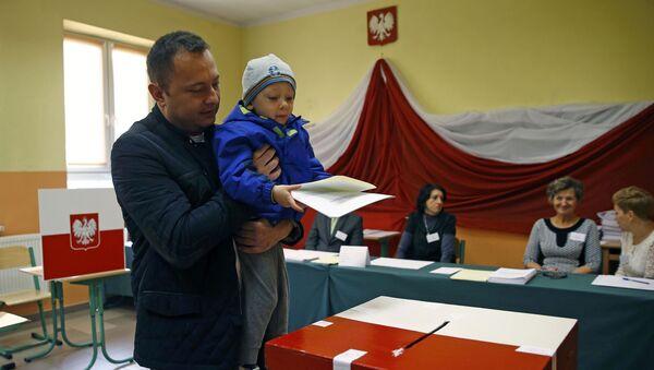 Wybory parlamentarne w Polsce - Sputnik Polska