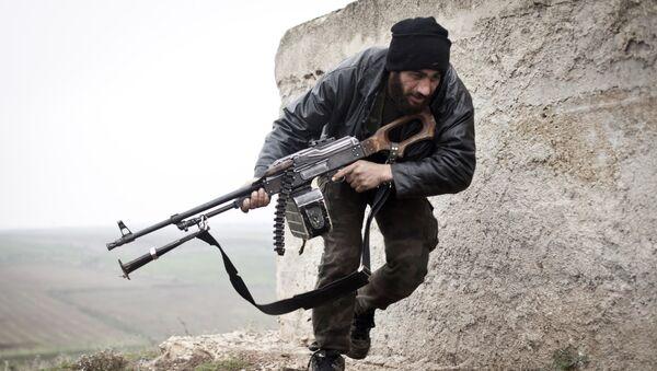 Członek Wolnej Armii Syrii - Sputnik Polska