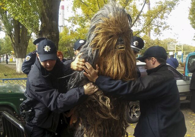 Zatrzymanie Chewbacca w Odessie