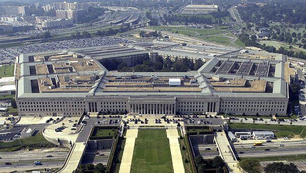 Widok na budynek Pentagonu w Waszyngtonie - Sputnik Polska