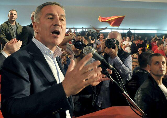 Prezydent Czarnogóry Milo Djukanović