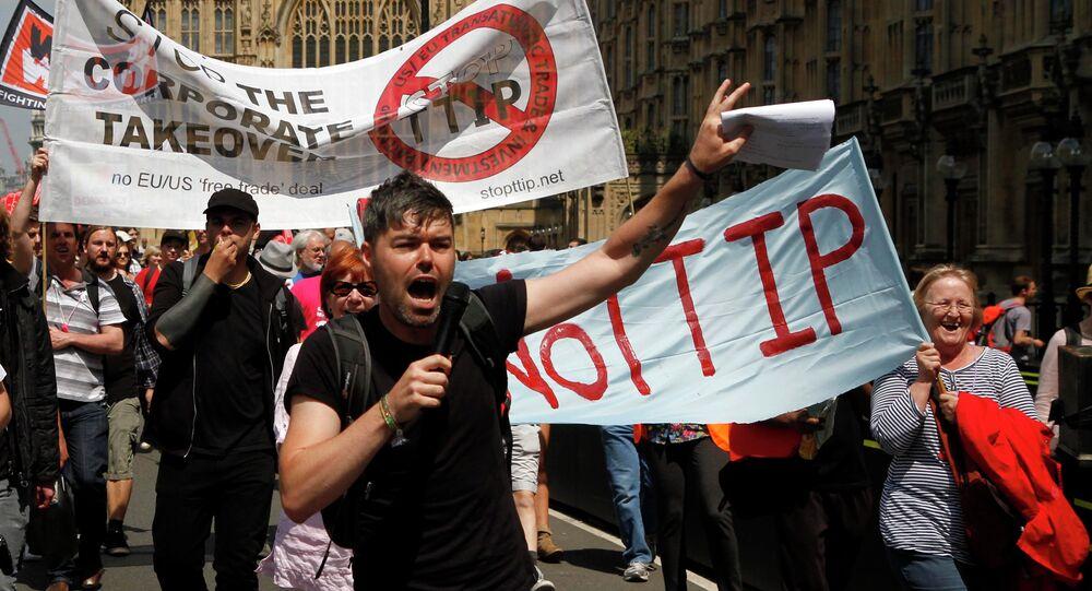 Protesty przeciwko TTIP