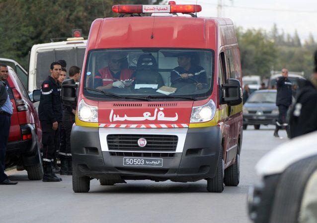 Karetka pogotowia  w Tunisie, Tunezja