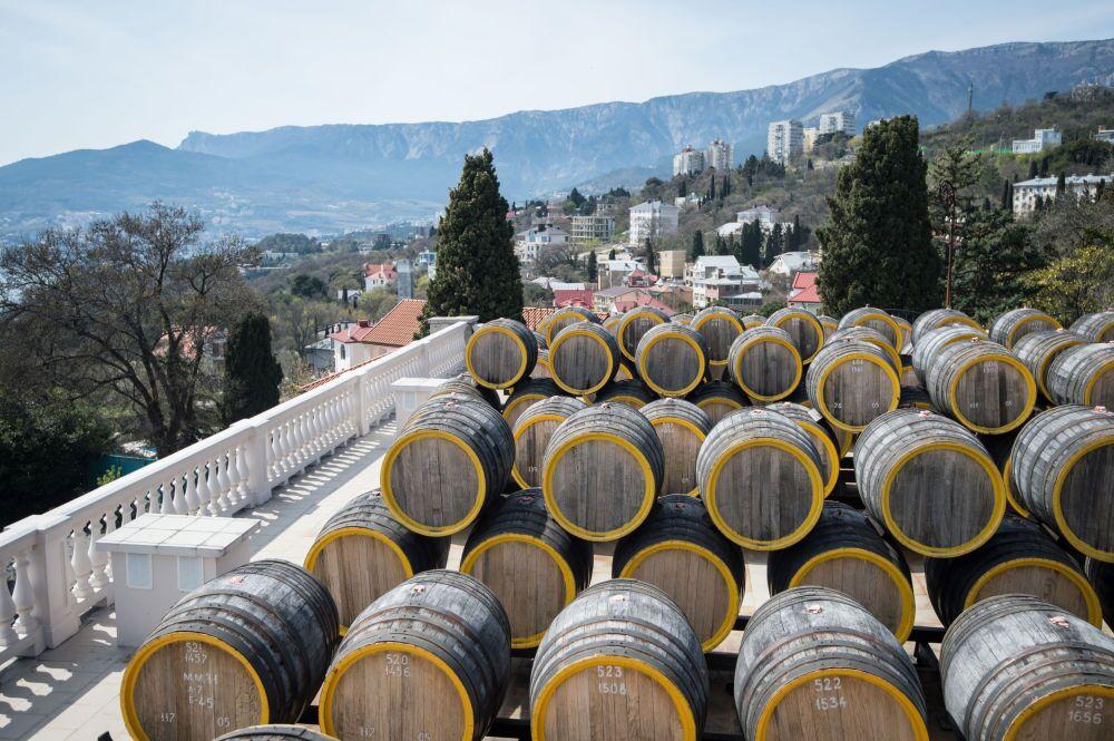 Wytwórnia win Massandra na Krymie