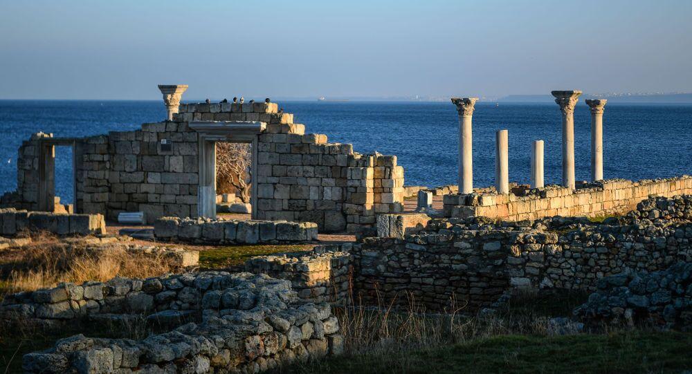 Antyczne miasto greckie Chersonez Taurydzki, Krym