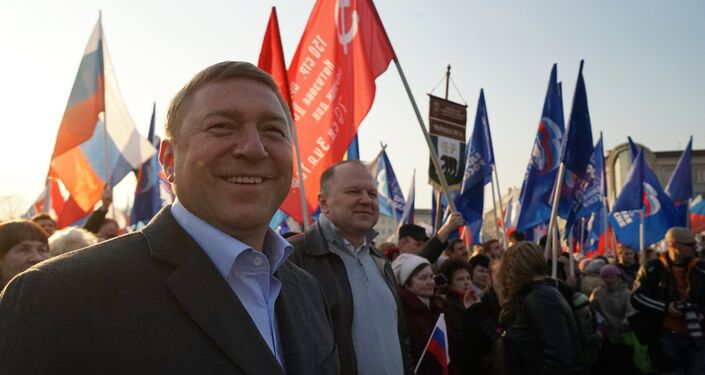 W całej Rosji ponad 400 tys. osób obchodzi przyłączenie Krymu do Rosji