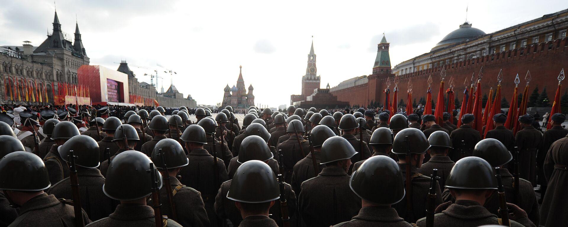 Próba generalna parady wojskowej w Moskwie - Sputnik Polska, 1920, 09.06.2021
