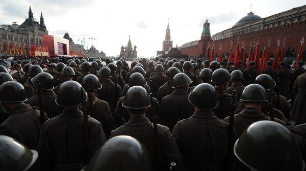 Próba generalna parady wojskowej w Moskwie - Sputnik Polska