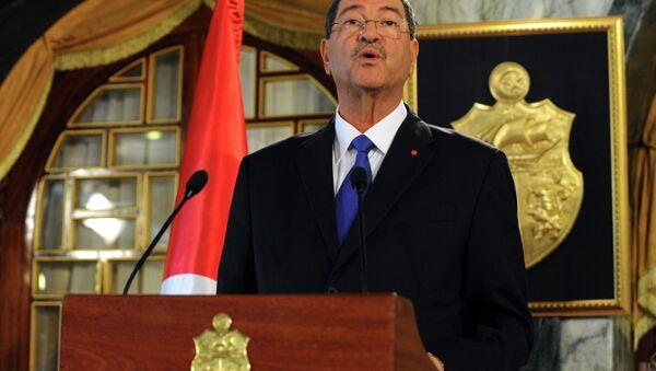 Premier Tunezji Habib Essid - Sputnik Polska