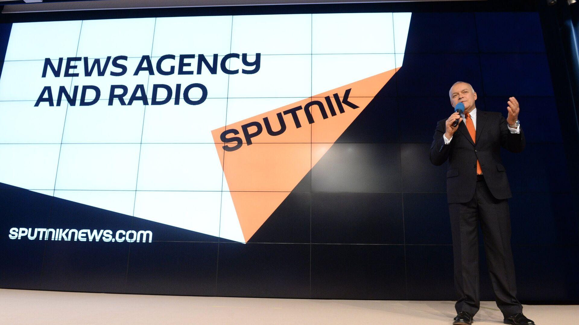 Dmitrij Kisielow prezentuje nową markę Sputnik - Sputnik Polska, 1920, 22.07.2021
