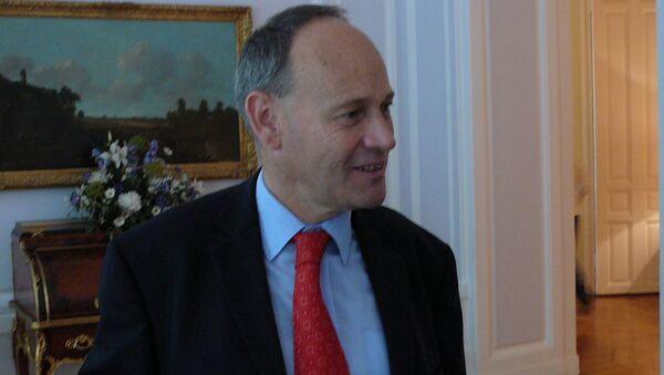 Ambasador Wielkiej Brytanii w FR w latach 2004-2008 Tony Brenton - Sputnik Polska