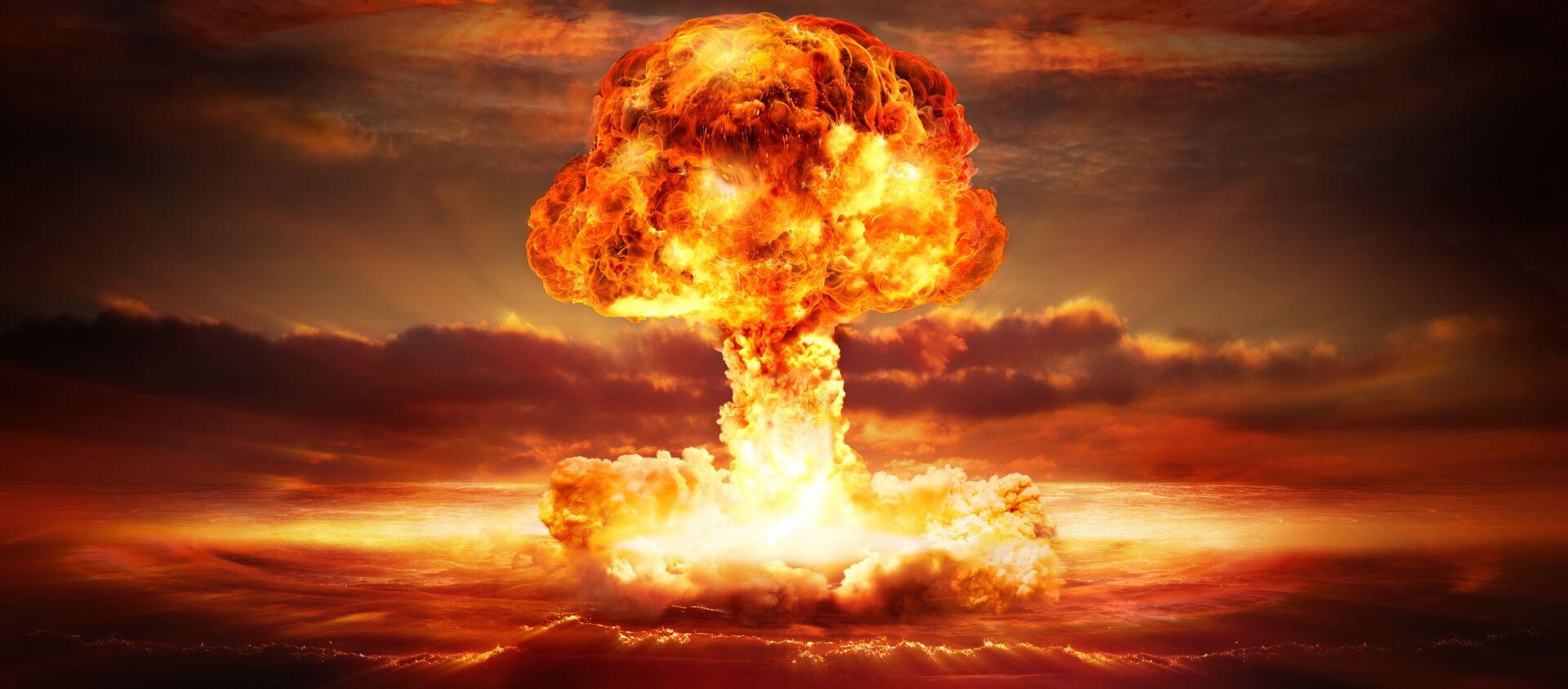 Wybuch nuklearny - Sputnik Polska, 1920, 06.04.2021