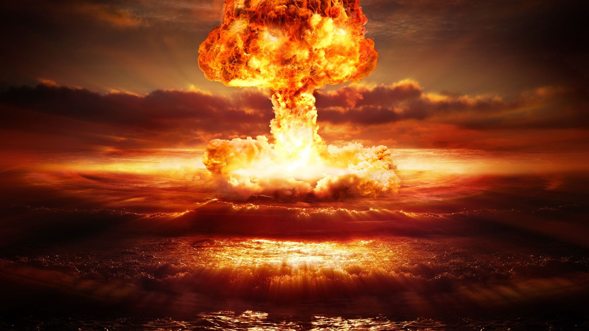 Wybuch nuklearny - Sputnik Polska, 1920, 15.04.2021