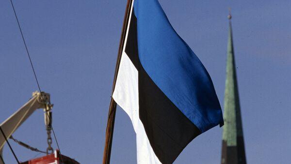Estońska flaga - Sputnik Polska
