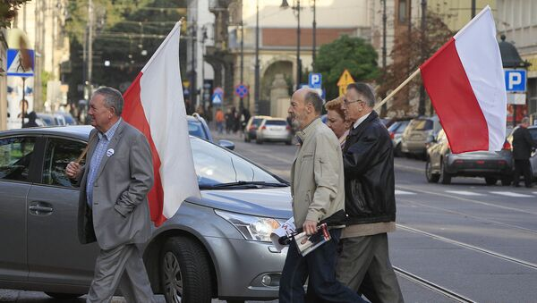 Zwolennicy PiSu - Sputnik Polska