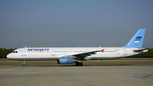Samolot Airbus А-321 linii lotniczych Metrojet, który rozbił się w Egipcie - Sputnik Polska