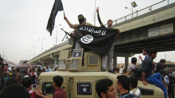 Islamiści z Państwa Islamskiego w Iraku - Sputnik Polska