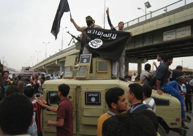 Islamiści z Państwa Islamskiego w Iraku