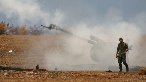 Ofensywa syryjskiej armii - Sputnik Polska