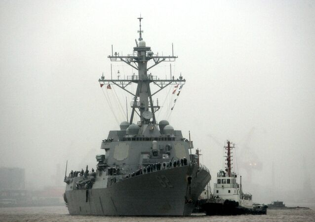 Niszczyciel USA Lassen