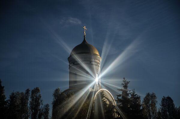 Cerkiew Wielkiego Męczennika św. Jerzego Zwycięzcy na Pokłonnej Górze - Sputnik Polska