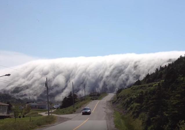 Ściana mgły
