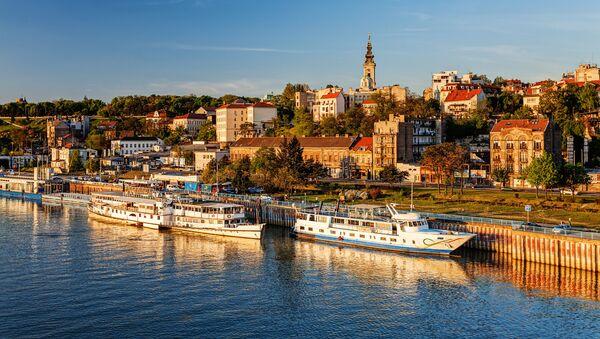 Panorama Belgradu - Sputnik Polska