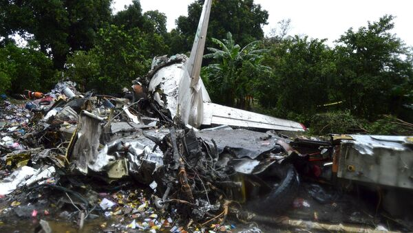 Fragmenty samolotu transportowego An-2 w Sudanie Południowym - Sputnik Polska