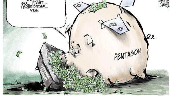 8 milionów dolarów dziennie - to kampania wojskowo-powietrzna USA - Sputnik Polska