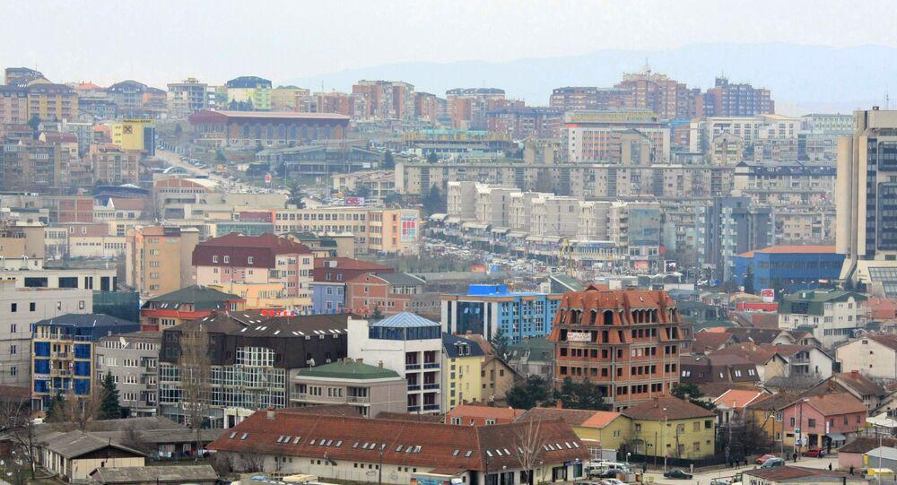 Widok na stolicę Kosowo Prisztinię