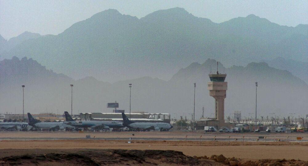 Międzynarodowy port lotniczy Szarm el-Szejk