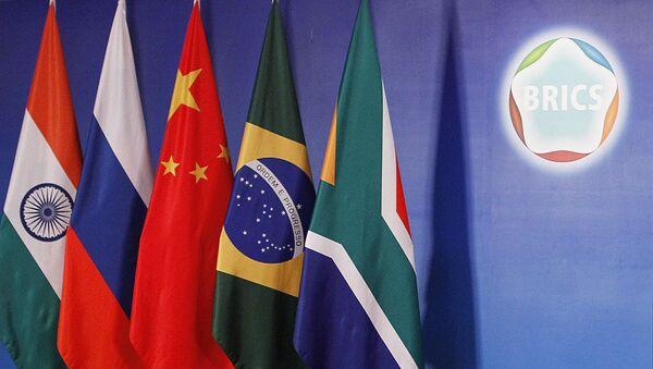 Flagi państw członkowskich BRICS - Sputnik Polska