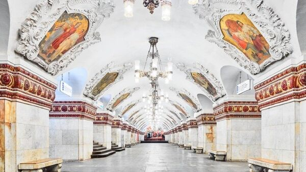 """Stacja metra """"Kijewskaja"""" - Sputnik Polska"""