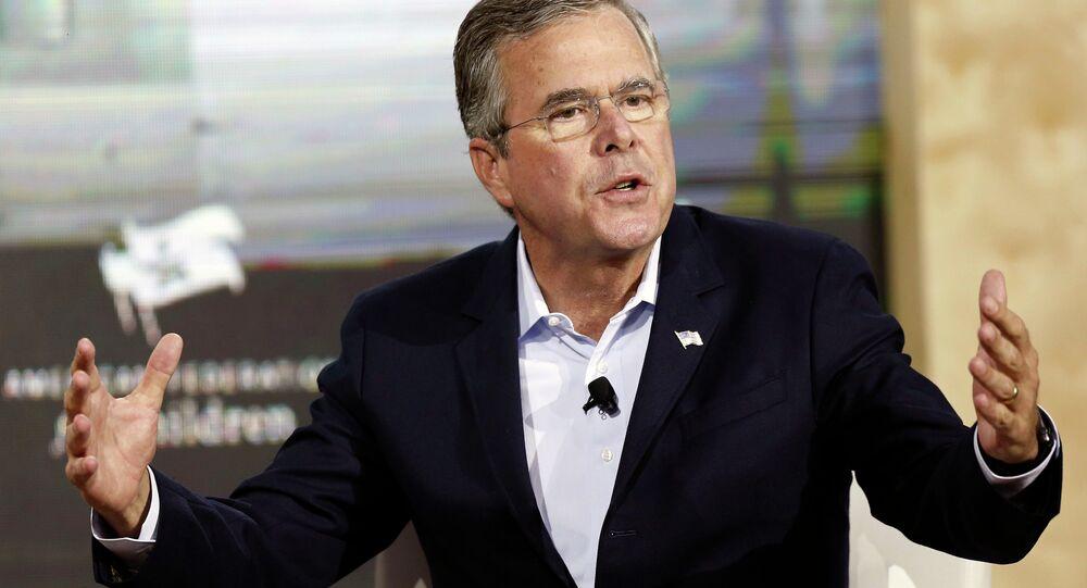 Kandydat na prezydenta USA Jeb Bush