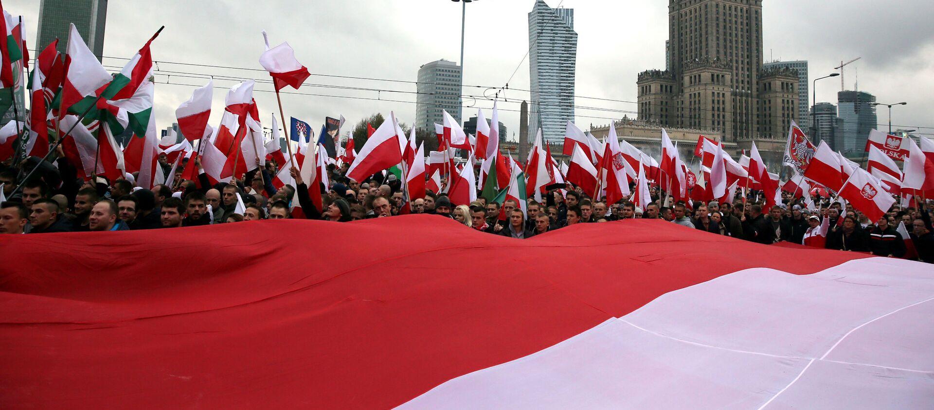 Dzień Niepodległości w Warszawie, 11 listopada 2015 r. - Sputnik Polska, 1920, 14.12.2015