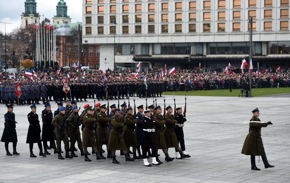 Uroczystości z okazji Dnia Niepodległości, 11 listopada 2015 r.