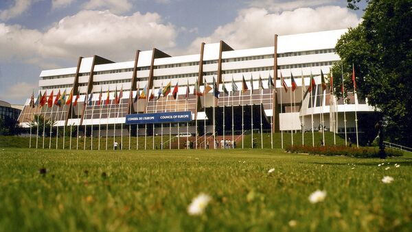 Pałac Europy w Strasburgu, gdzie odbywają się posiedzenia PACE - Sputnik Polska