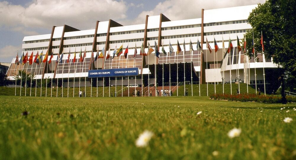 Pałac Europy w Strasburgu, gdzie odbywają się posiedzenia PACE