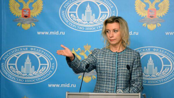 Briefing rzeczniczki rosyjskiego MSZ Marii Zacharowej - 12 listopada 2015 - Sputnik Polska