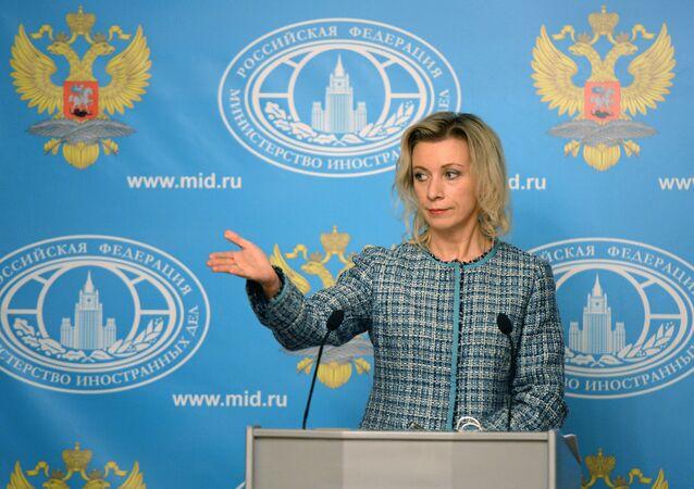Briefing rzeczniczki rosyjskiego MSZ Marii Zacharowej - 12 listopada 2015