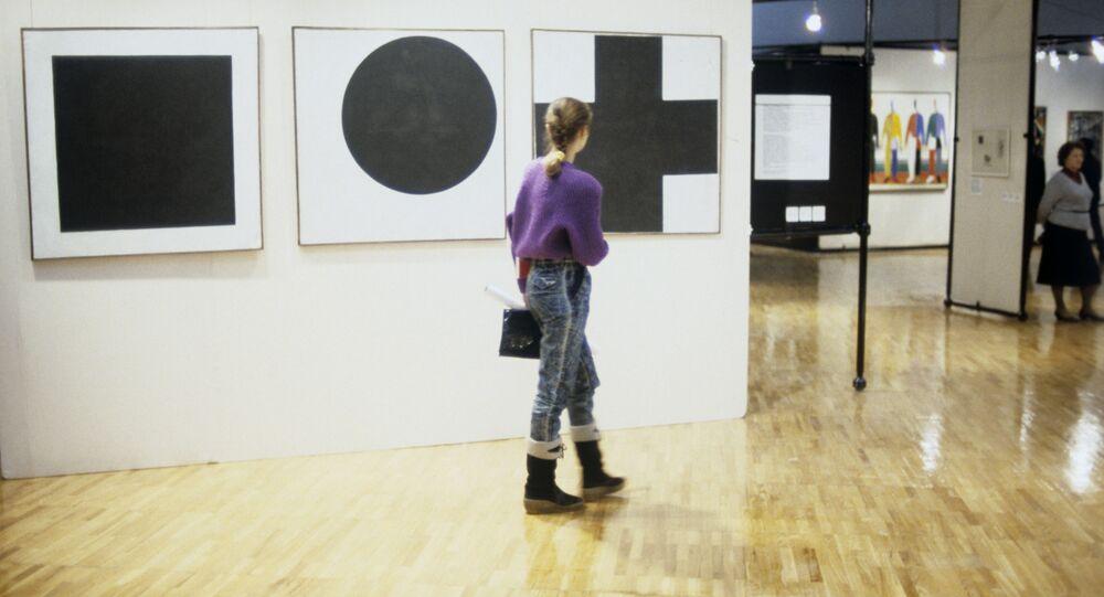 Выставка работ Казимира Малевича в Третьяковской галерее