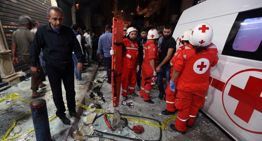 Zamach terrorystyczny w Bejrucie