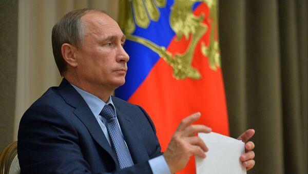 Prezydent Rosji Władimir Putin - Sputnik Polska