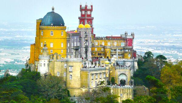 Pałac Pena w Portugalii - Sputnik Polska