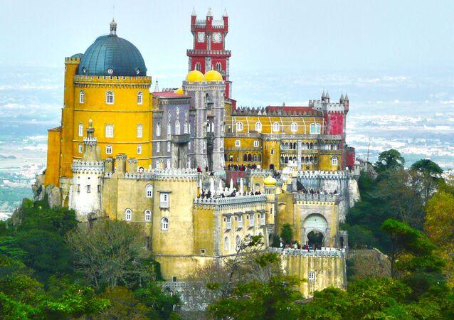 Pałac Pena w Portugalii
