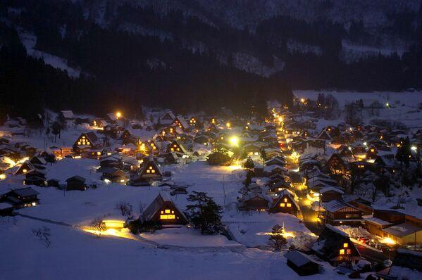 Miejscowość Shirakawa w Japonii - Sputnik Polska