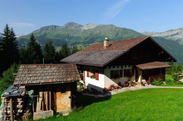 Dom w Wengenie, Szwajcaria - Sputnik Polska
