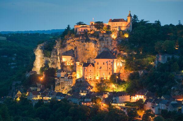 Średniowieczne miasto Rocamadour we Francji - Sputnik Polska